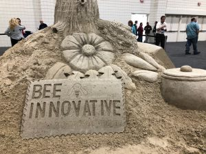 Sand sculpture at ABF.