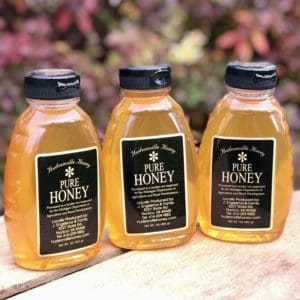 3 32oz jars of honey