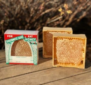 Comb honey sections